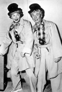 """I Love Lucy""Lucille Ball and Harpo Marx1955 - Image 0069_0717"