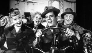 """I Love Lucy""Lucille Ball, Vivian Vance. Desi Arnaz, William Frawley1957 - Image 0069_0721"