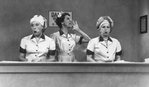 """I Love Lucy""Vivian Vance, Lucille Ballc. 1956 - Image 0069_0724"
