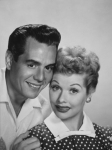 Lucille Ball and Desi Arnaz1954 © 1978 Wallace Seawell - Image 0069_2036