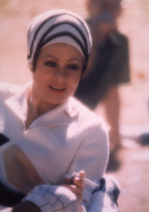 """Lucille Ball on the set of """"mame""""1974Photo by: Mel Traxel - Image 0069_2041"""