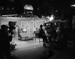 """I Love Lucy""Lucille Ball, Desi Arnaz, Vivian Vance, William Frawley1953© 1978 Sid Avery - Image 0069_2050"