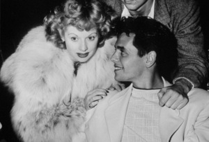 Lucille Ball and Desi Arnaz, c. 1952.**I.V. - Image 0069_2076