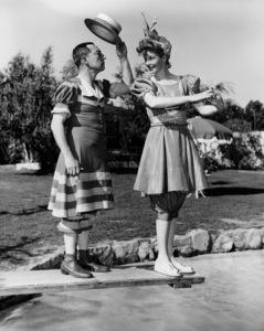 Lucille Ball & Buster KeatonAt Ball home1944**I.V. - Image 0069_2130