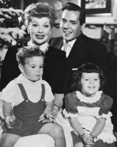 Lucille Ball, Desi Arnaz, Desi Arnaz Jr, and Lucie Arnazcirca 1953** I.V. - Image 0069_2148
