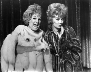 Jim Bailey (impersonating Phyllis Diller) and Lucille Ballcirca 1968** I.V. - Image 0069_2149