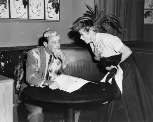 """William Holden and Lucille Ball in """"I Love Lucy"""" (Episode: """"L.A. At Last!"""")Airdate: February 7, 1955** I.V / M.T. - Image 0069_2189"""