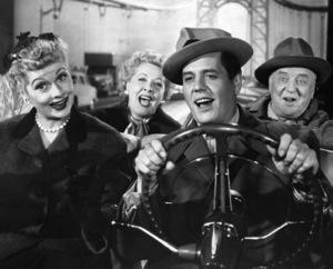 """""""I Love Lucy""""Lucille Ball, Vivian Vance, Desi Arnaz, William Frawley1955** I.V. - Image 0069_2192"""