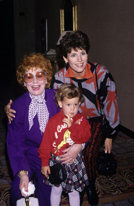 Lucille Ball, Kate Luckinbill and Lucie ArnazOctober 16, 1988© 1988 Gary Lewis - Image 0069_2201