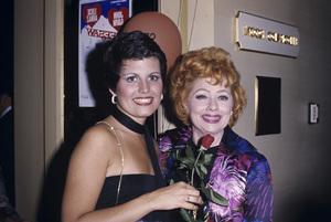 Lucie Arnaz and Lucille Ballcirca 1970s© 1978 Gary Lewis - Image 0069_2206
