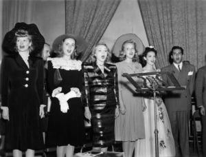 Lucille Ball, Marlene Dietrich, Linda Darnell and Desi Arnazcirca 1940sPhoto by Gabi Rona - Image 0069_2210