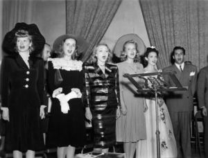 Lucille Ball, Marlene Dietrich, Linda Darnell and Desi Arnazcirca 1940sPhoto by Gabi Rona - Image 0069_2210