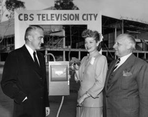 Lucille Ball, Merle Jones and Walter Braunschweiger 1952Photo by Gabi Rona - Image 0069_2216