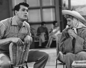 """I Love Lucy"" (Episode: In Palm Springs)Rock Hudson, Lucille Ball1955** I.V. - Image 0069_2238"
