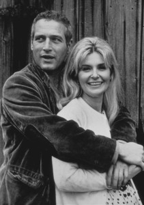 """Paul Newman and Joanne Woodward off the set of """"Winning"""" 1968 © 1978 David Sutton - Image 0070_0150"""