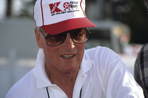Paul Newman, co-owner of Newman-Haas Racing, at the Long Beach Grand Prix in Long Beach, CA1992 © 1992 Ron Avery - Image 0070_1030