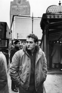 """Paul Newman in New York City during the filming of """"Somebody Up There Likes Me"""" 1956 © 1978 Sanford Roth  - Image 0070_2000"""