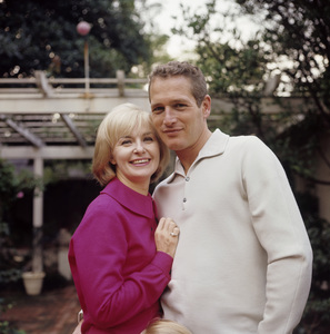 Paul Newman and Joanne Woodward at home in Hollywood CA1965© 1978 David Sutton - Image 0070_2090
