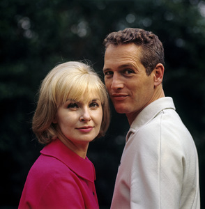 Paul Newman and Joanne Woodward at home in Hollywood CA1965© 1978 David Sutton - Image 0070_2095