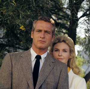 Paul Newman and Joanne Woodward at home in Hollywood CA1968© 1978 David Sutton - Image 0070_2099