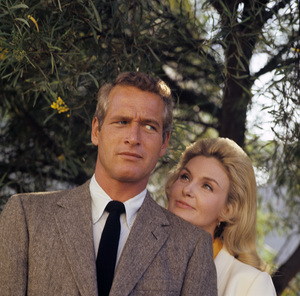 Paul Newman & Joanne Woodward at home1965© 1978 David Sutton - Image 0070_2101
