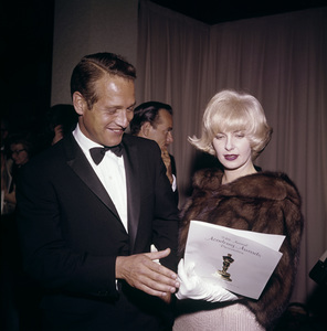"Paul Newman and Joanne Woodward at ""The 34th Annual Academy Awards""1962© 1978 David Sutton - Image 0070_2110"