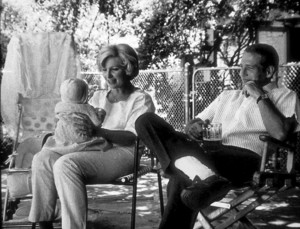 Paul Newman and Joanne Woodwardat home with their daughter Claire, 1965. © 1978 David Sutton - Image 0070_2117