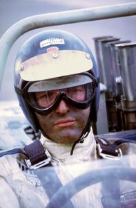 "Paul Newman on the set of ""Winning,"" 1968. © 1978 David Sutton - Image 0070_2191"