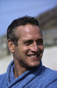 """Paul Newman during the making of """"Winning""""1968 © 1978 David Sutton - Image 0070_2245"""