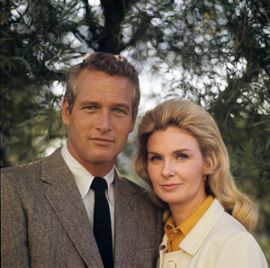 Paul Newman and Joanne Woodward at home in Hollywood CA1968© 1978 David Sutton - Image 0070_2311