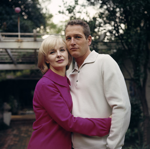 Paul Newman and Joanne Woodwardat home, 1965. © 1978 David Sutton - Image 0070_2312