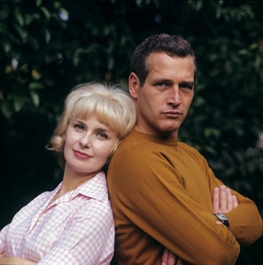 Paul Newman and Joanne Woodward at home in Hollywood CA1965© 1978 David Sutton - Image 0070_2314
