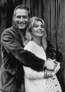"""Paul Newman with wife Joanne Woodwardoff the set of """"Winning,"""" 1968. © 1978 David Sutton - Image 0070_2325"""