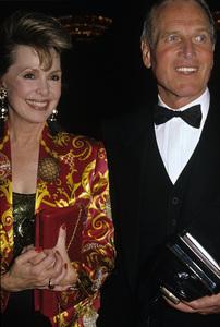 Paul Newman and Barbara Rushcirca 1980s © 1980 Jean Cummings - Image 0070_2395