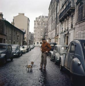 Paul Newman in Paris1960 © 1978 Leo Fuchs - Image 0070_2404