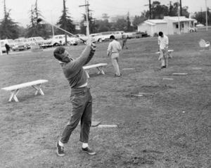 Paul Newman golfingcirca 1960Photo by Joe Shere - Image 0070_2407