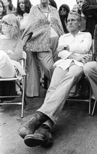 Paul Newman in Santa Monica, California1973 © 1978 Ulvis Alberts - Image 0070_2408
