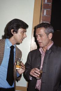 Robert Evans and Paul Newman1970© 1978 Gary Lewis - Image 0070_2416