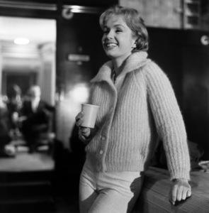 """Debbie Reynolds on the set of """"The Pleasure of His Company""""1960 © 1978 Sid Avery - Image 0071_0040"""