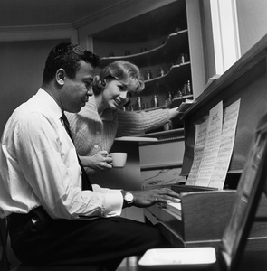 """Debbie Reynolds on the set of """"The Pleasure of His Company""""1960 © 1978 Sid Avery - Image 0071_0092"""