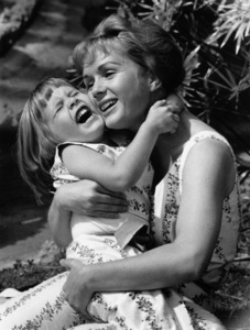 Debbie Reynolds and daughter Carrie Fisher1960 © 1978 David Sutton - Image 0071_1039