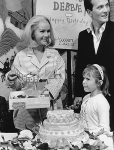 Debbie Reynolds with Pat Booneand daughter Carrie Fishercirca 1965 - Image 0071_1043