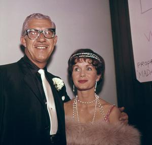 Debbie Reynolds and husband Harry Karlc. 1960 © 1978 Bernie Abrahmson - Image 0071_1069