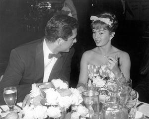 Debbie Reynoldswith Jacques Bergerac at the Hilton Hotel for a WAIF Charity BallC. 1958Photo by Joe Shere - Image 0071_1101