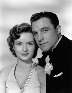 "Debbie Reynolds and Gene Kelly from ""Singin"