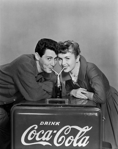 Debbie Reynolds and Eddie Fisher1955 © 1978 Wallace Seawell - Image 0071_1109