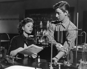 """Debbie Reynolds and Bobby Van in """"Affair of Dobie Gillis""""1953 - Image 0071_1124"""