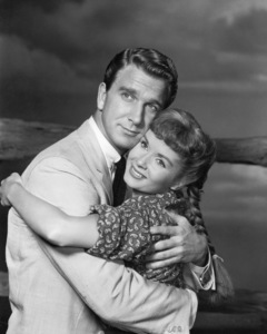 """Tammy and the Bachelor""Leslie Nielsen, Debbie Reynolds1957 Universal Pictures** I.V./M.T. - Image 0071_1131"