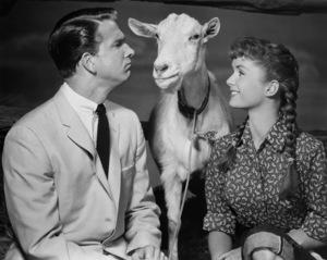 """""""Tammy and the Bachelor""""Leslie Nielsen, Debbie Reynolds1957 Universal Pictures** I.V./M.T. - Image 0071_1132"""