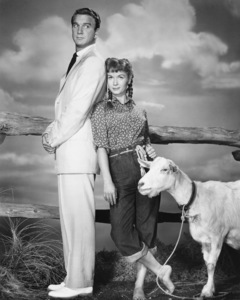 "Leslie Nielsen and Debbie Reynolds in ""Tammy and the Bachelor""1957 Universal** I.V./M.T. - Image 0071_1135"